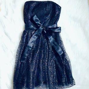 Dresses & Skirts - Black Sequin Mesh Dress